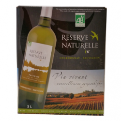 Cubi Vin blanc Chardonnay - Sauvignon (3L)
