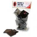 Assortiment de carrés bio, Elodie D (160g chocolat)