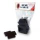 Asortiment de carrés bio, Elodie D (160g chocolat)- RESERVATION