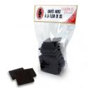 Carrés fleurs de sel bio, Elodie D (125g chocolat)