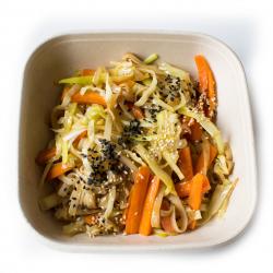 Mousse de brocoli et kale à la noisette et mille graines (plat, 1personne)