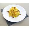 Riz aux carottes, coco et fruits secs