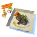Panier pour pot au feu : légumes et viande (4 personnes)