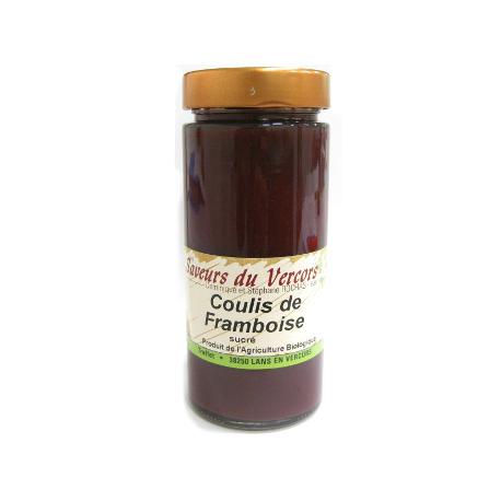 Coulis de myrtille bio (330g)