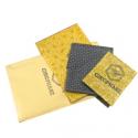 Cirophane-toile enduite pour emballer (X3)