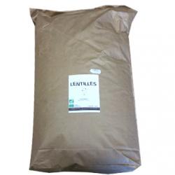 Lentilles vertes bio (5kg)