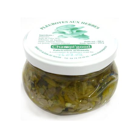 Pot de shii-takés aux herbes, 250gr