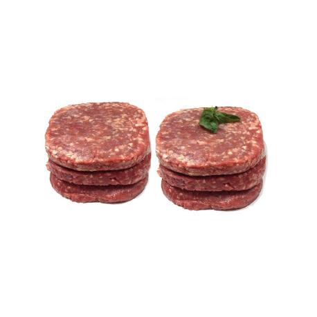 Steaks hâchés ultra frais (x6)- à consommer de suite