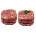 Steaks hâchés ultra frais (x6, 890g environ)- à consommer de suite