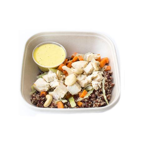 Risotto végétarien à la courge et sauge (plat, 1personne)