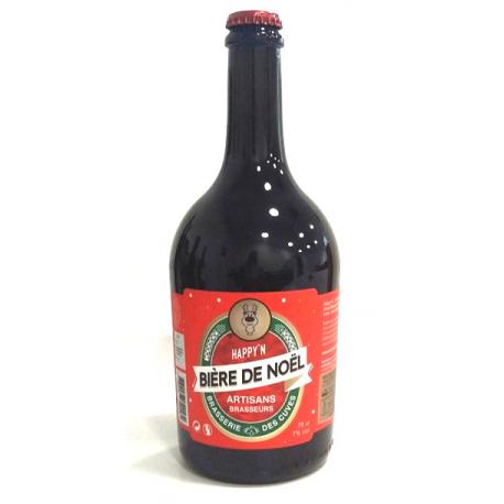 Bière de Noël de la Brasserie des Cuves de Sassenage (75cl)