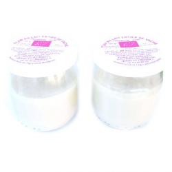 Flans de vache bio framboise_mûre (x2)- pot en verre 1€ de consigne
