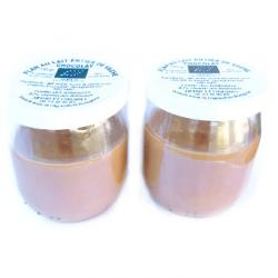 Flans de vache bio chocolat (x2)