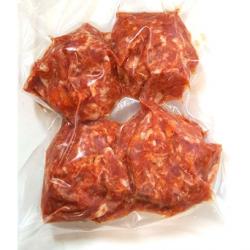 Steak hâché pur porc, Ferme des 4 vents (4x100g)