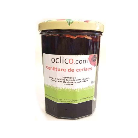 Confiture de cerise (370g)