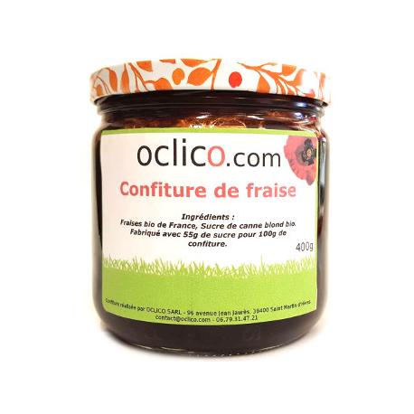 Confiture de fraise (400g)