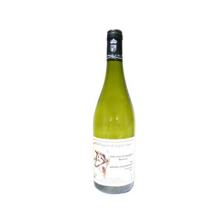Vin blanc sec cépage Chardonnay (75cl)