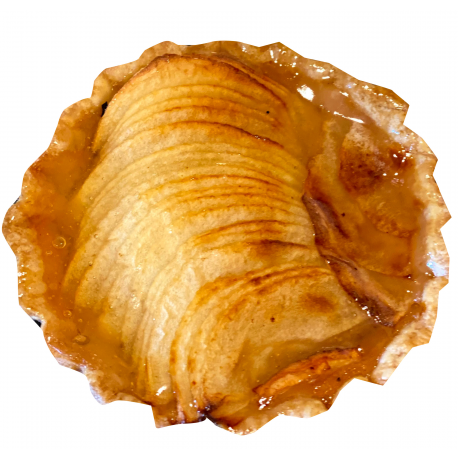 Tartelette poire bio (80g)