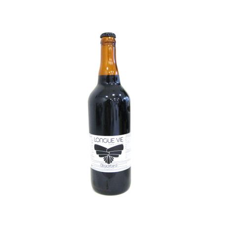Bière Longue Vie Blackbird bio (75cl)