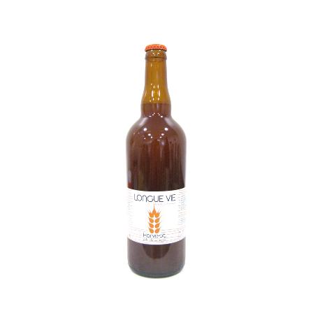 Bière Longue Vie Pale ale au seigle bio (75cl)