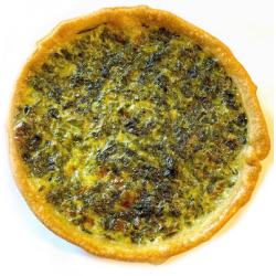 Tartelette blette-épinards bio (150g)