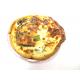 Quiche lorraine au jambon (2 pièces)