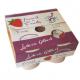 Yaourt à la fraise (4x125g)