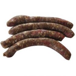 Saucisses aux herbes, boeuf et porc (x4, 280g)