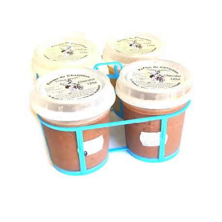 Crème dessert de vache chocolat (x2)