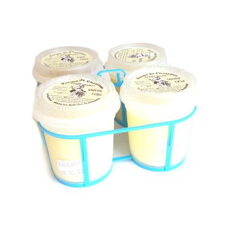 Crème dessert de vache chocolat (x4)