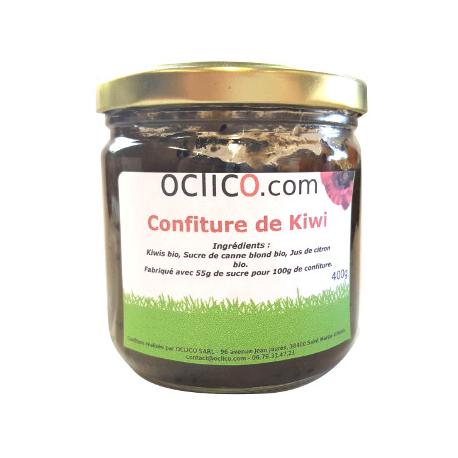 Confiture de kiwis (400g)
