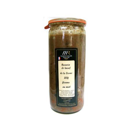 Navarin de boeuf au miel (le bocal 1.52kg) Ferme Rey