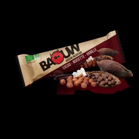 Barre Cacao Noisette Vanille 25g BIO