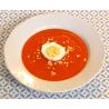 Soupe de potimarron et poivrons rouges (recette)