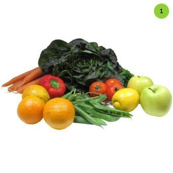 paniers de fruits et légumes bio